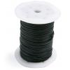 Cotton Wax Cord 1.5mm Flat Black
